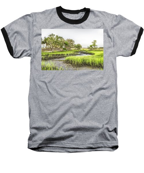 Chisolm Island - Low Tide Baseball T-Shirt