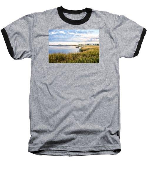 Chisolm Island Shoreline  Baseball T-Shirt