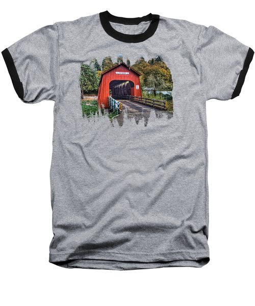 Chitwood Covered Bridge Baseball T-Shirt