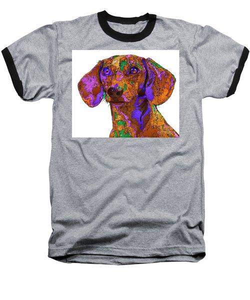 Chloe. Pet Series Baseball T-Shirt