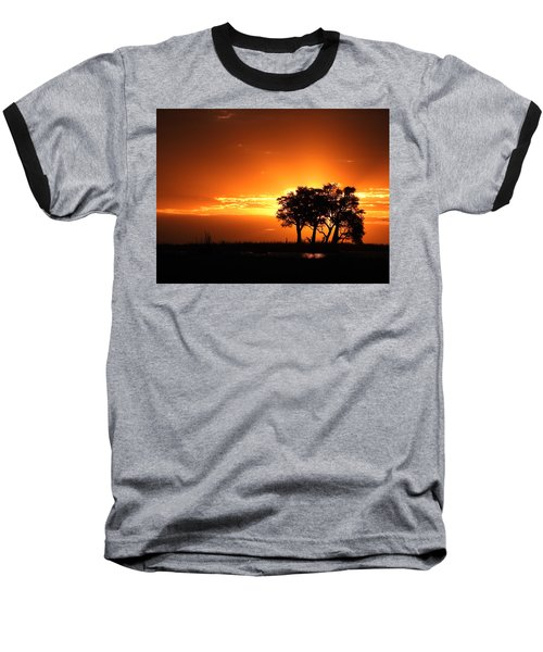 Baseball T-Shirt featuring the photograph Chobe River Sunset by Betty-Anne McDonald
