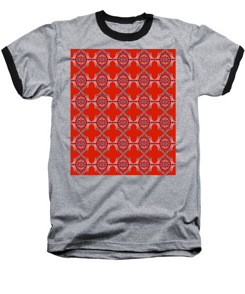 Chock A Block Red Baseball T-Shirt