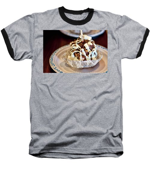 Chocolate Caramel Apple Baseball T-Shirt