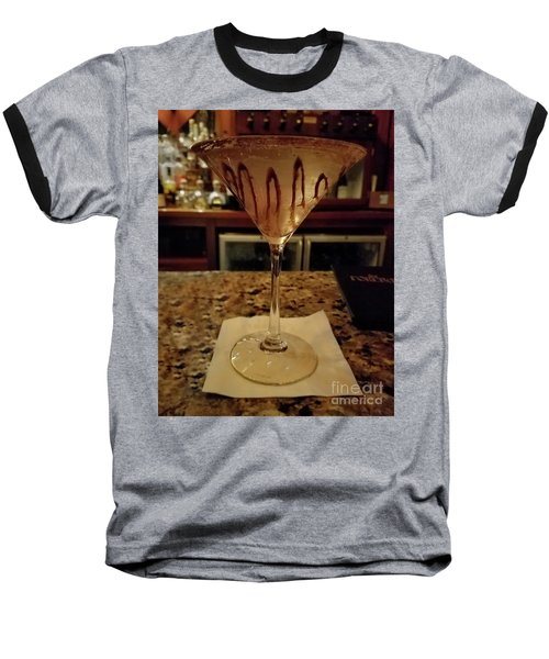 Chocolate Martini Baseball T-Shirt