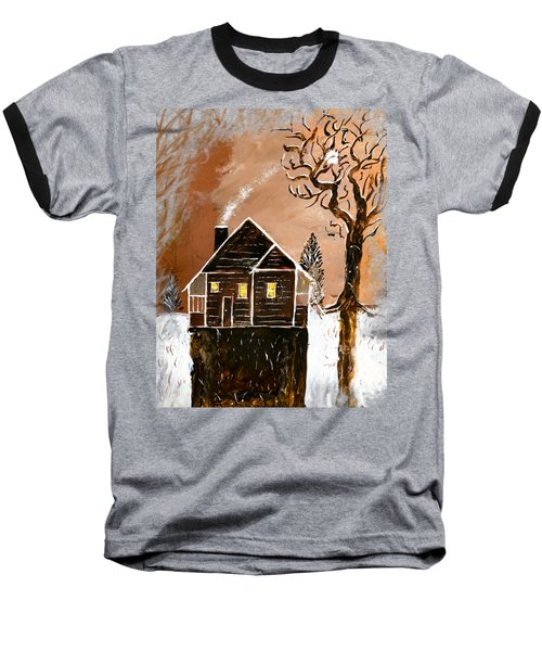 Chocolate Roast Baseball T-Shirt