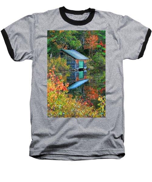 Chocorua Boathouse Baseball T-Shirt