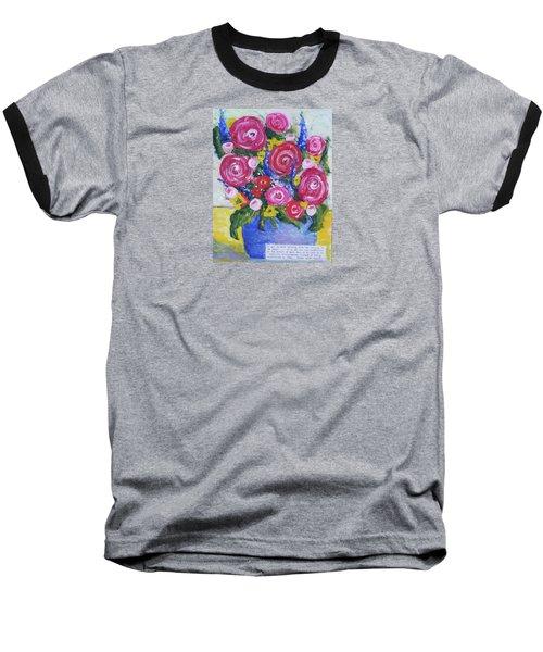 Choice Bouquet Baseball T-Shirt