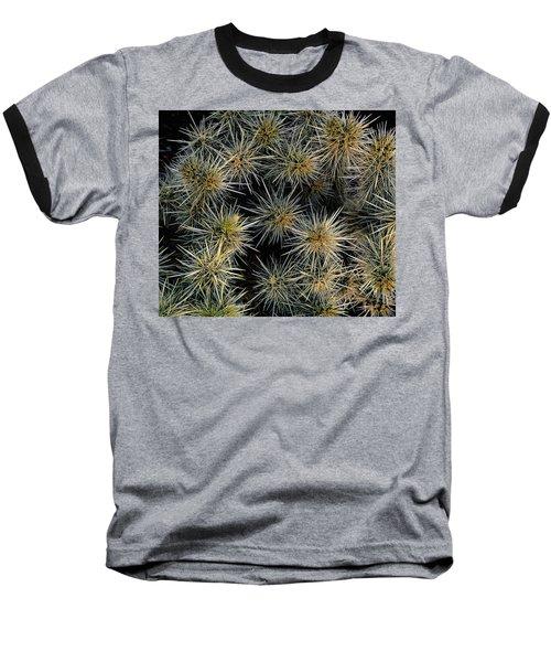 Cholla Cactus Cluster Baseball T-Shirt