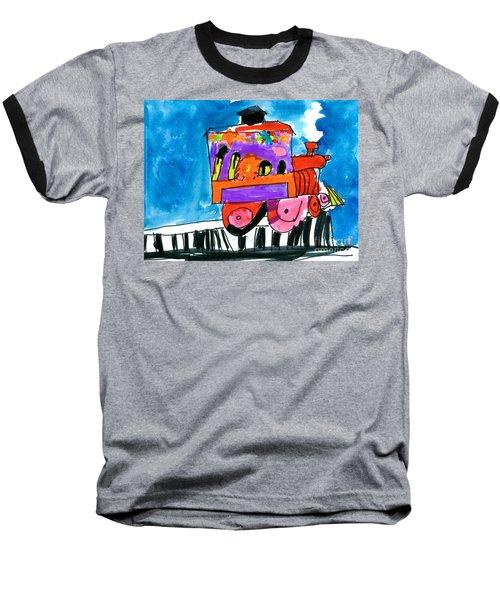 Choochoo Train Baseball T-Shirt
