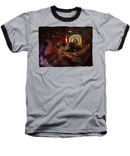 Choose Peace Baseball T-Shirt by Bobbee Rickard