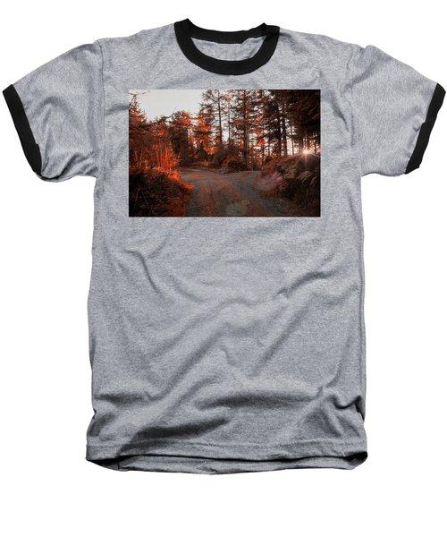 Choose The Road Less Travelled Baseball T-Shirt
