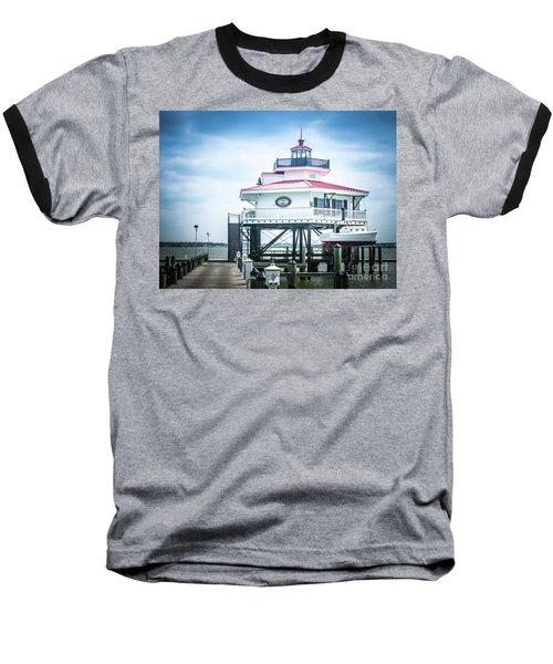 Choptank River Lighthouse Baseball T-Shirt