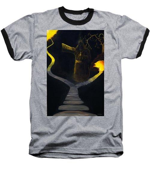 Chosen Path Baseball T-Shirt by Brian Wallace
