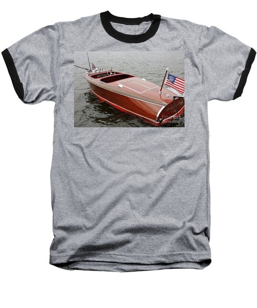 Chris Craft Barrel Back Baseball T-Shirt