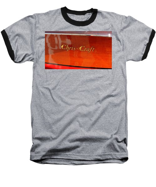 Chris Craft Logo Baseball T-Shirt