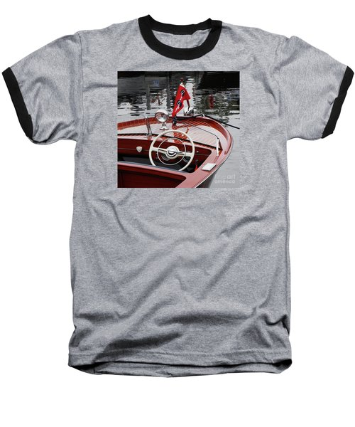 Chris Craft Sportsman Baseball T-Shirt