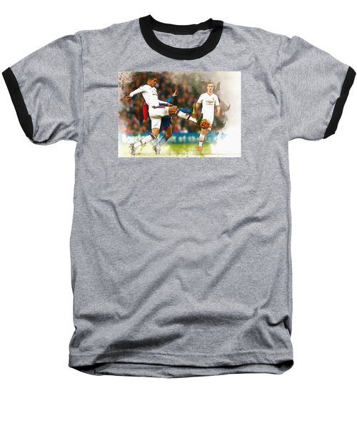 Chris Smalling  In Action  Baseball T-Shirt by Don Kuing