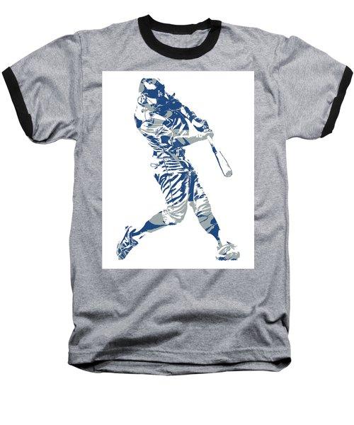 Chris Taylor Los Angeles Dodgers Home Run Baseball T-Shirt