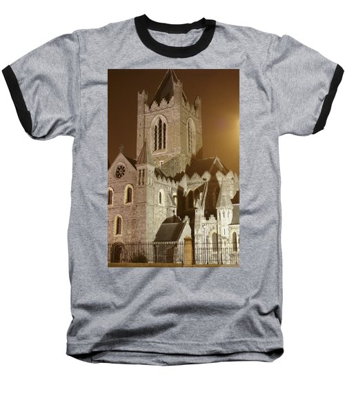 Christ Church Dublin Ireland Baseball T-Shirt by Henri Irizarri