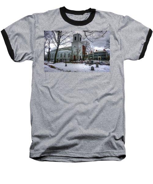 Christ Church In Cambridge Baseball T-Shirt
