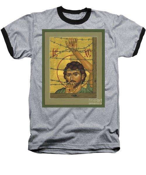 Christ Of Maryknoll - Rlcom Baseball T-Shirt