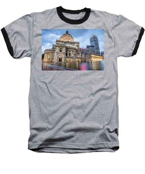 Christian Science Center In Boston Baseball T-Shirt