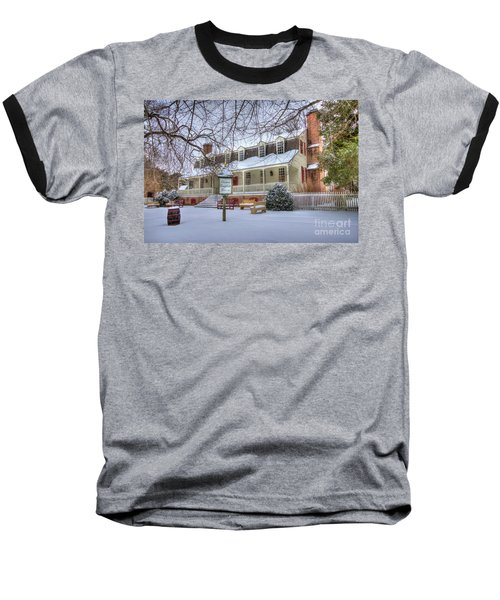 Christina Campbell Tavern Colonial Williamsburg Baseball T-Shirt