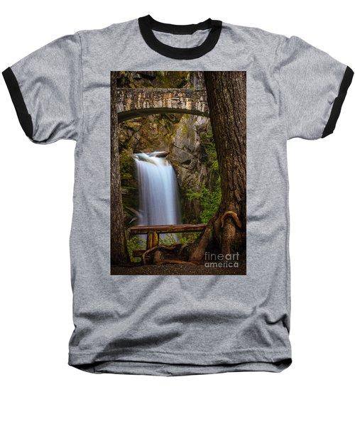 Christine Falls Baseball T-Shirt