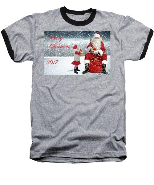 Christmas 2017 Baseball T-Shirt
