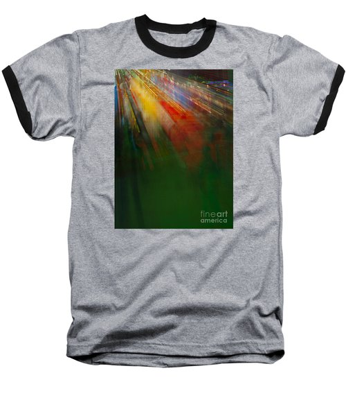 Christmas Abstract Baseball T-Shirt