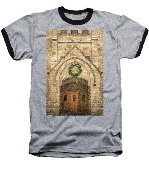 Christmas At Stone Chapel Baseball T-Shirt