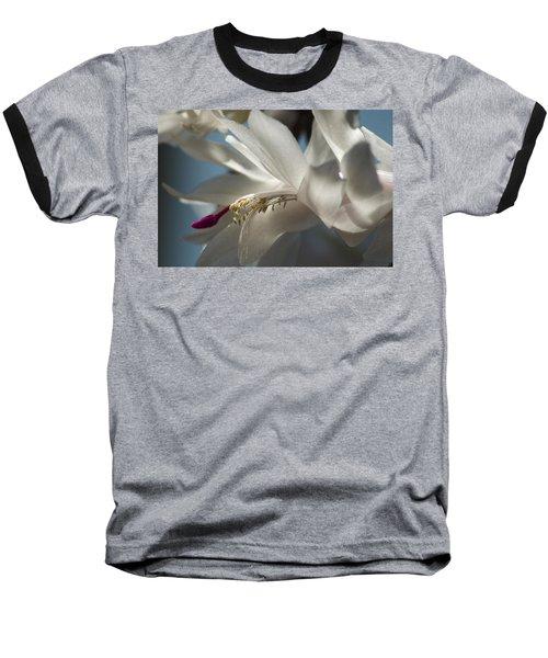 Christmas Cactus Blossom Baseball T-Shirt