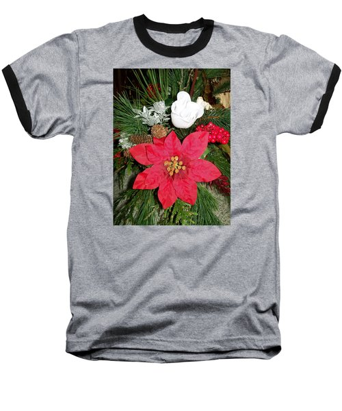 Baseball T-Shirt featuring the photograph Christmas Centerpiece by Sharon Duguay