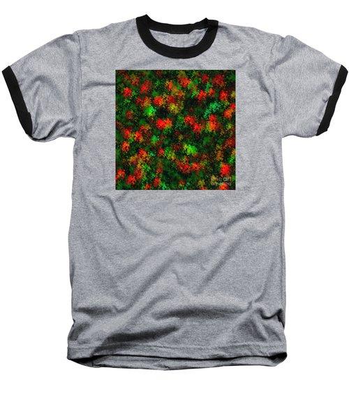 Christmas Colors Baseball T-Shirt