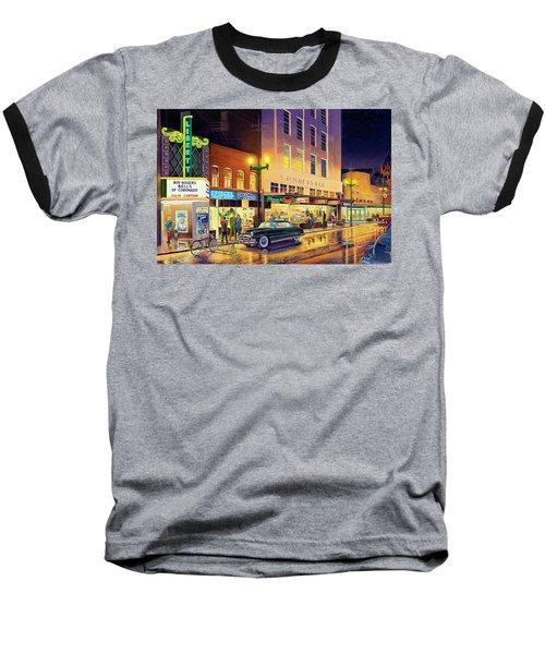Christmas Corner Baseball T-Shirt