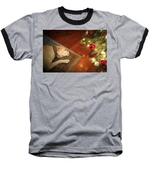 Christmas Dreams Baseball T-Shirt