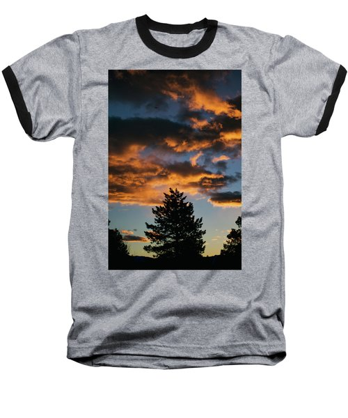 Christmas Eve Sunrise 2016 Baseball T-Shirt by Jason Coward