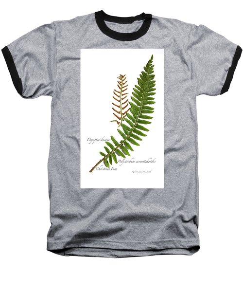 Christmas Fern Baseball T-Shirt