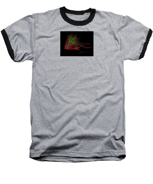 Christmas Fly Baseball T-Shirt