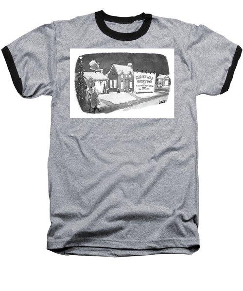 Christmas Greetings From The Applebys Baseball T-Shirt