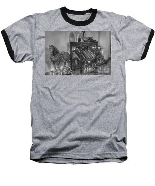 Christmas Horse Baseball T-Shirt