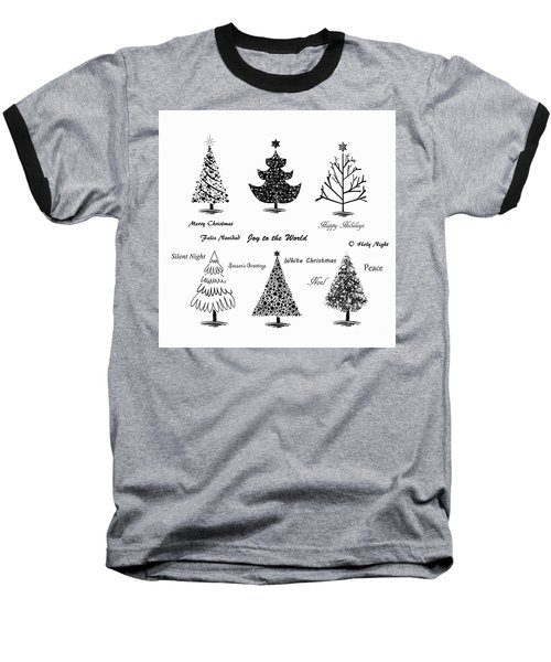 Baseball T-Shirt featuring the photograph Christmas Illustration by Stephanie Frey
