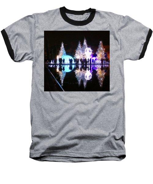 Christmas In Nizza, Southern France Baseball T-Shirt