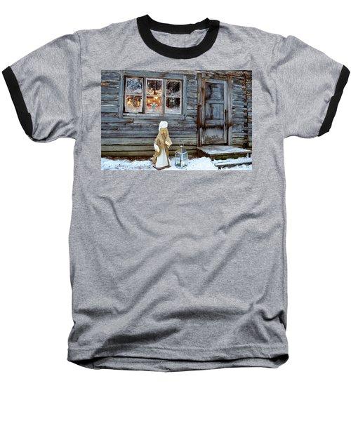 christmas in Scandinavia Baseball T-Shirt