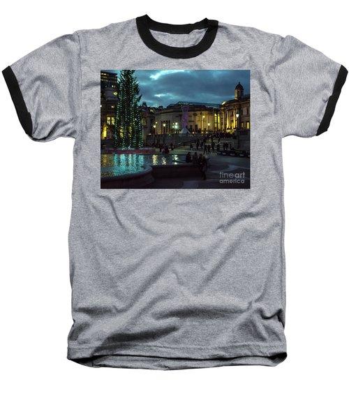 Christmas In Trafalgar Square, London 2 Baseball T-Shirt