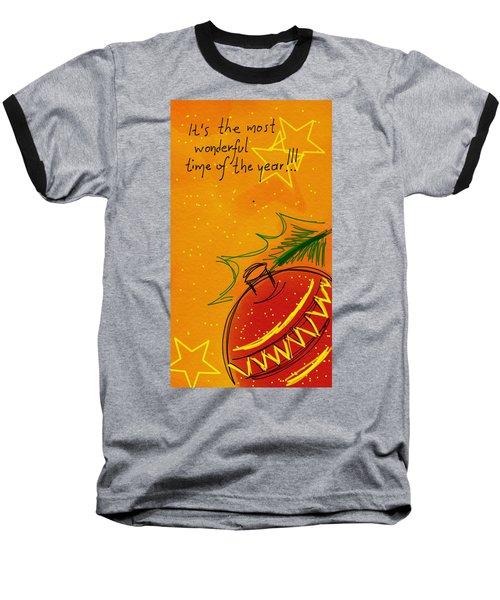 Christmas Is Coming  Baseball T-Shirt