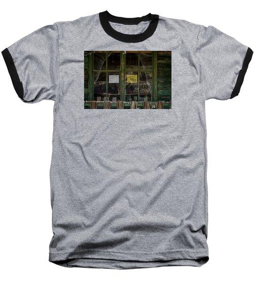 Christmas Lights And Reflections Baseball T-Shirt