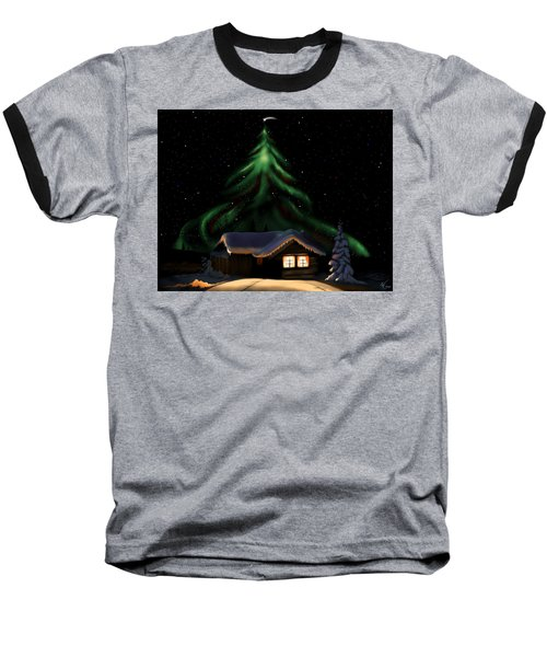 Christmas Lights Baseball T-Shirt