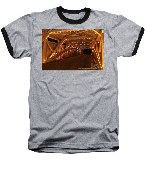 Christmas Luminance Baseball T-Shirt