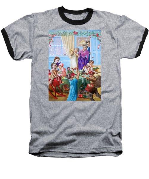 We Say Merry  Christmas  Because It Is Christmas  Baseball T-Shirt